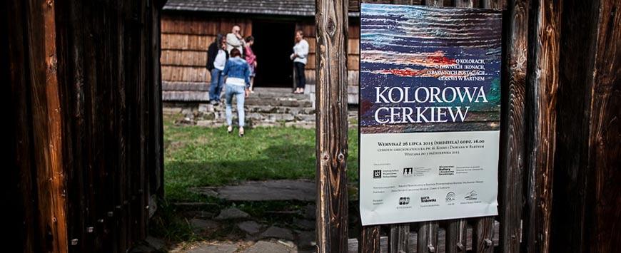 WYSTAWA KOLOROWA CERKIEW